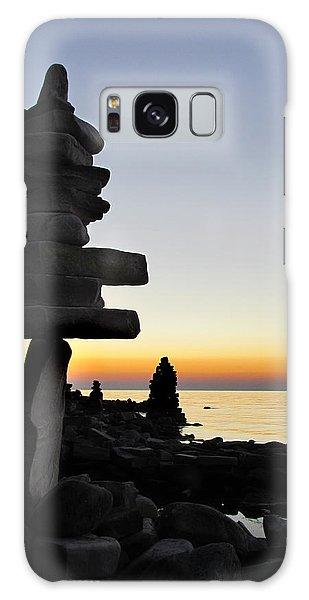Cairns At Sunset At Door Bluff Headlands Galaxy Case