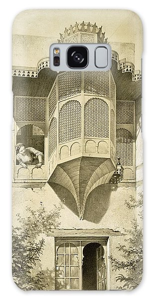 Bay Galaxy Case - Cairo House Called Beyt El-emyr , 19th by Emile Prisse d'Avennes