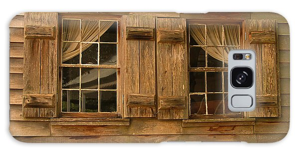 Cajun Cypress Double Window Galaxy Case by Ronald Olivier
