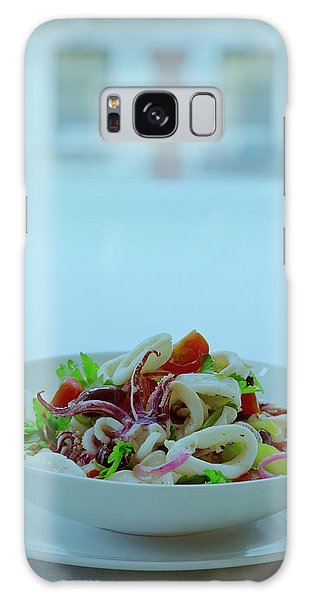 Calamari Salad Galaxy Case