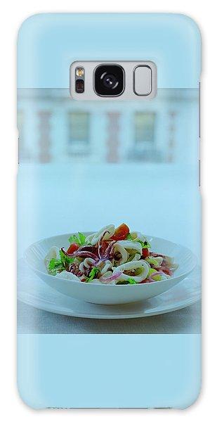 Calamari Salad Galaxy Case