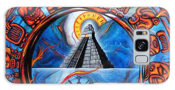 Calendario Maya Galaxy Case by Angel Ortiz