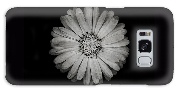 Calendula Flower - Textured Version Galaxy Case by Laura Melis