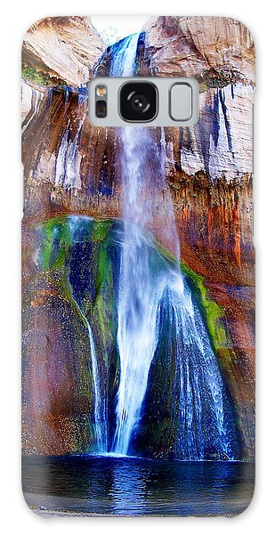 Calf Creek Falls Galaxy Case