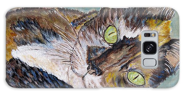 Calico Cat Galaxy Case - Calico Cat by Ella Kaye Dickey