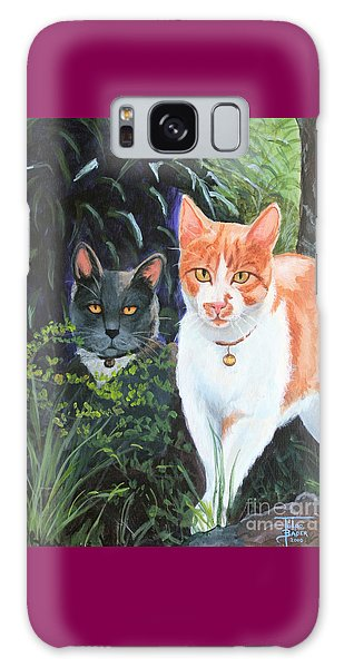 Califorian Cats Galaxy Case