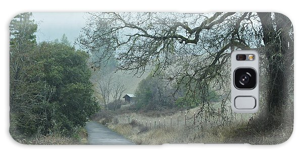 California Back Country Road Galaxy Case by Judy  Johnson
