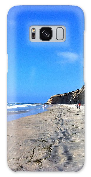 California Beach Hike Galaxy Case