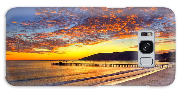 Avila Beach Sunset Galaxy Case