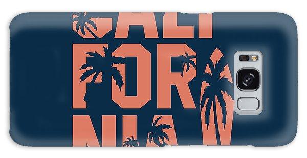 Board Galaxy Case - California Beach Typography Graphics by Yevgenij d
