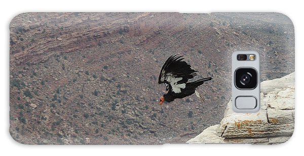 California Condor Taking Flight Galaxy Case