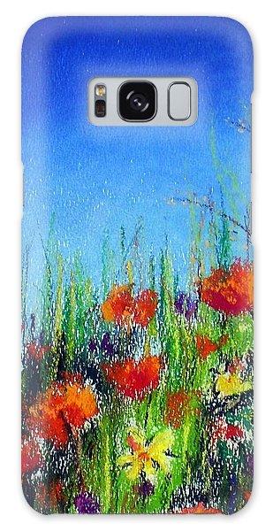 California Dreaming Galaxy Case by Jodie Marie Anne Richardson Traugott          aka jm-ART