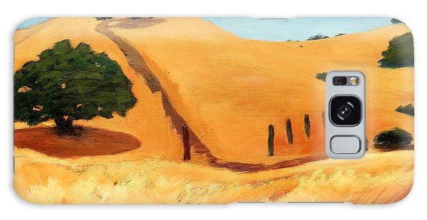California Dry Grass Galaxy Case