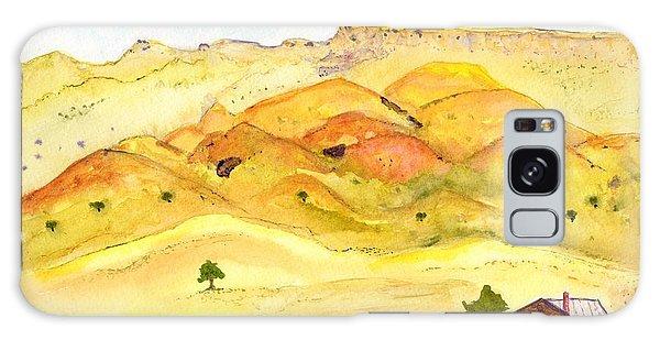 California Foothill Homestead Galaxy Case