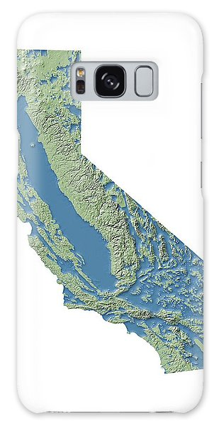 Usa Map Galaxy Case - California Groundwater Map by Nicolle R. Fuller