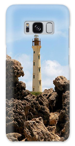 California Lighthouse Aruba Galaxy Case