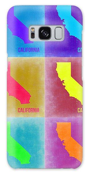 California Galaxy Case - California Pop Art Map 2 by Naxart Studio