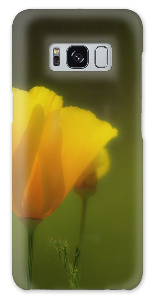 California Poppies 2 Galaxy Case by Sherri Meyer
