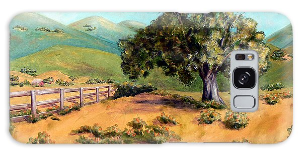 California Poppies II Galaxy Case by Terry Taylor