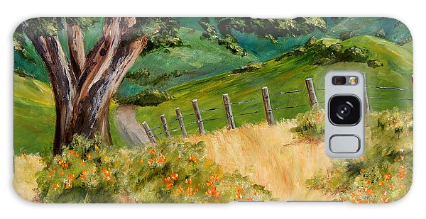 California Poppies Galaxy Case by Terry Taylor