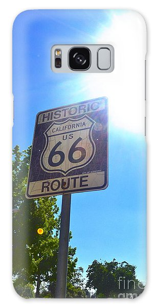 California Route 66 Galaxy Case by Utopia Concepts