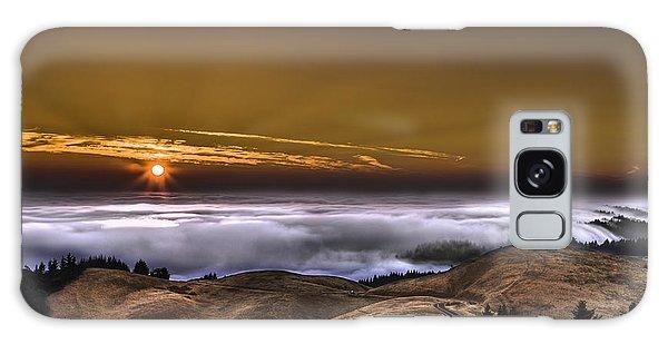 California Sunset Galaxy Case