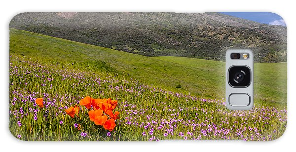 California Wildflowers Galaxy Case