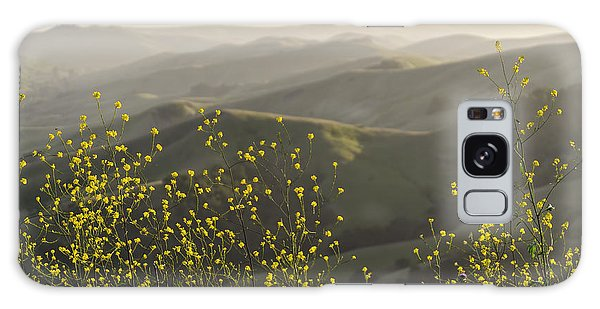 Galaxy Case featuring the photograph California Wildflowers by Steven Sparks
