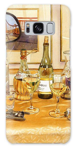 California Wine And Watercolors Galaxy Case
