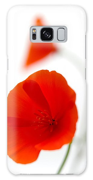 Californian Poppies 2 Galaxy Case