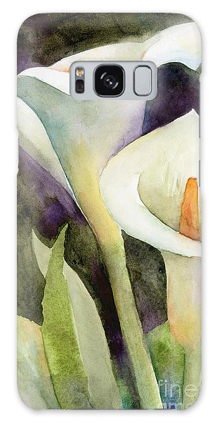 Lily Galaxy Case - Calla Lilies by Amy Kirkpatrick