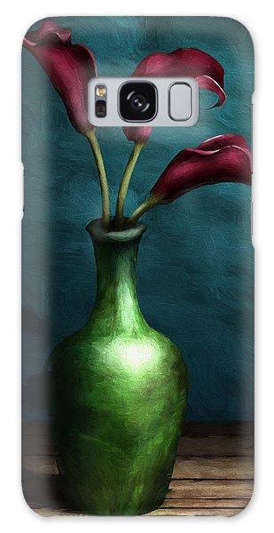 Calla Lilies I Galaxy Case