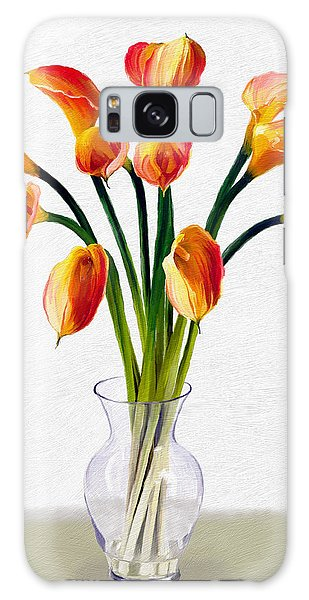 Calla Lillies Galaxy Case