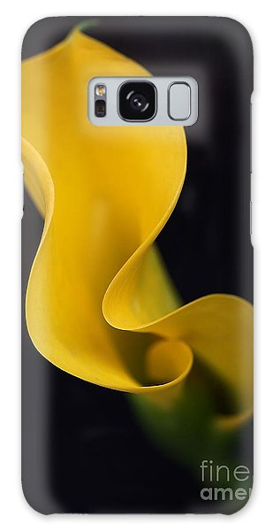Calla Lily Galaxy Case by Joy Watson