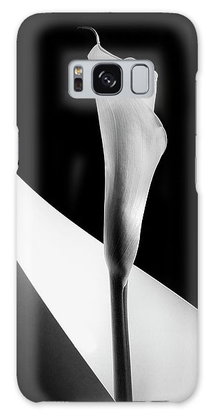Flora Galaxy Case - Calla Lily by Stephen Clough
