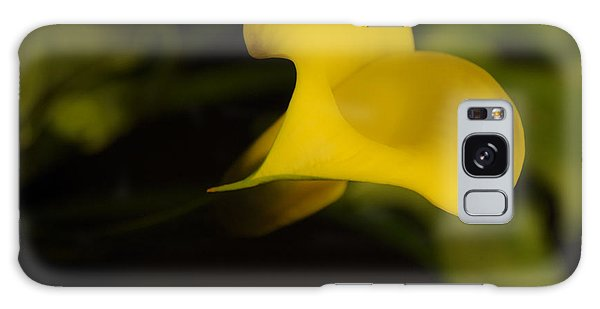 Calla Lily Yellow IIi Galaxy Case