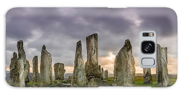 Callanish Stones Galaxy Case