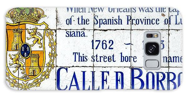 Calle D Borbon Galaxy Case