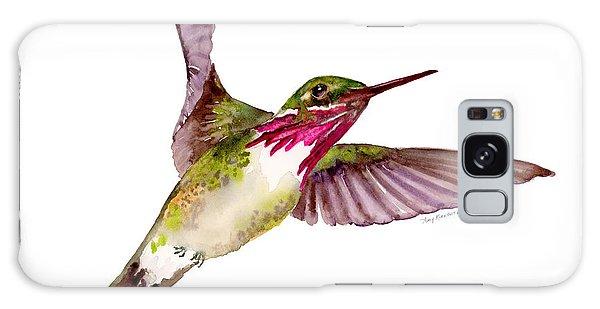 Calliope Hummingbird Galaxy Case