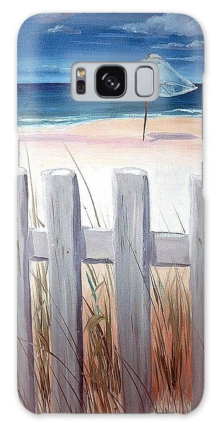 Calm Day At The Seashore Galaxy Case by Bernadette Krupa