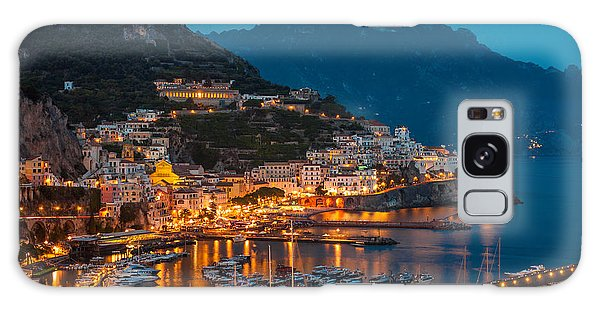 Calm Night Over Amalfi Coast Galaxy Case