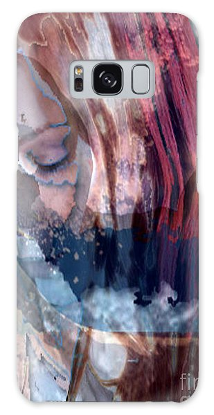 Calm Surrender Galaxy Case by Asegia