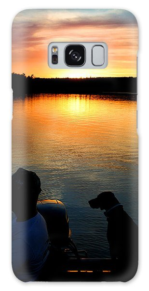 Calm Waters Galaxy Case