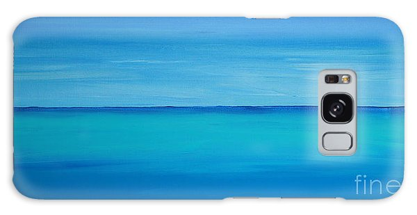 Calming Turquise Sea Part 1 Of 2 Galaxy Case