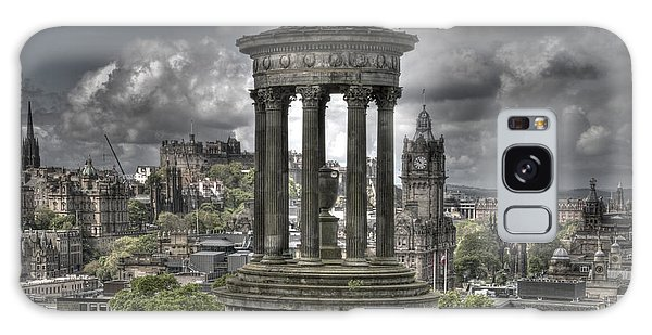 Calton Hill Galaxy Case by Marion Galt
