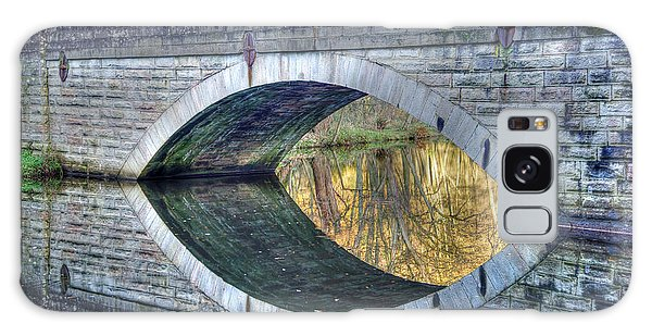 Calver Bridge Reflection Galaxy Case