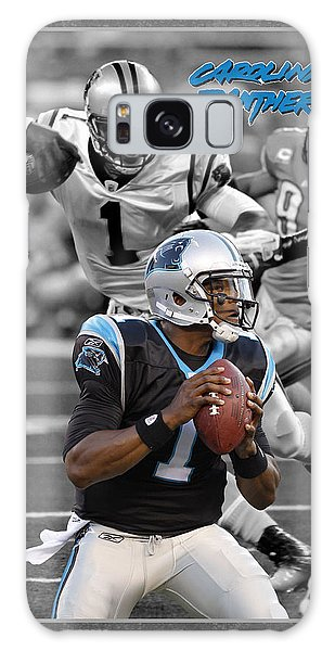 Panther Galaxy S8 Case - Cam Newton Panthers by Joe Hamilton
