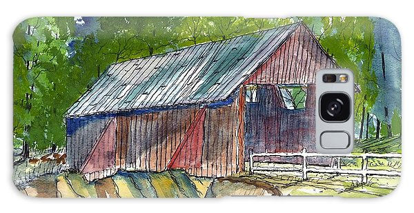 Cambell's Covered Bridge Galaxy Case