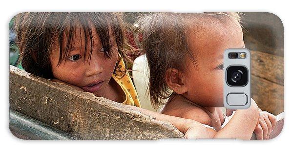 Cambodian Children 03 Galaxy Case