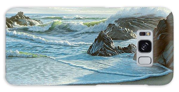 California Galaxy Case - Cambria Seascape  by Paul Krapf
